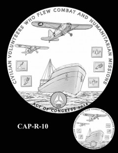 Congressional Gold Medal Design Candidate - CAP-R-10