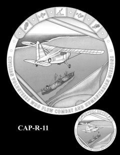 Congressional Gold Medal Design Candidate - CAP-R-11