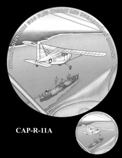 Congressional Gold Medal Design Candidate - CAP-R-11A