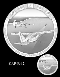 Congressional Gold Medal Design Candidate - CAP-R-12