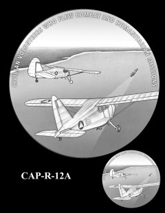 Congressional Gold Medal Design Candidate - CAP-R-12A