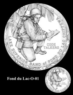 Congressional Gold Medal Design Candidate - Fond du Lac-O-01