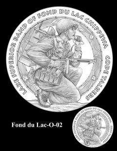 Congressional Gold Medal Design Candidate - Fond du Lac-O-02