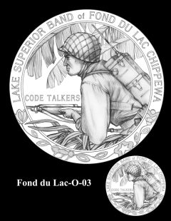 Congressional Gold Medal Design Candidate - Fond du Lac-O-03