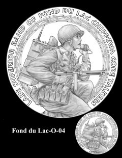 Congressional Gold Medal Design Candidate - Fond du Lac-O-04