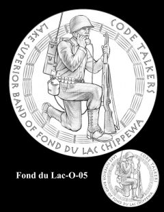 Congressional Gold Medal Design Candidate - Fond du Lac-O-05