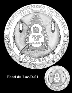 Congressional Gold Medal Design Candidate - Fond du Lac-R-01