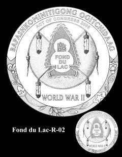 Congressional Gold Medal Design Candidate - Fond du Lac-R-02