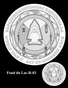 Congressional Gold Medal Design Candidate - Fond du Lac-R-03