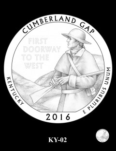 Cumberland Gap National Historical Park Quarter and Coin Design Candidate - KY-02