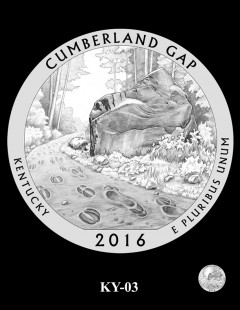 Cumberland Gap National Historical Park Quarter and Coin Design Candidate - KY-03