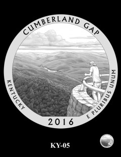 Cumberland Gap National Historical Park Quarter and Coin Design Candidate - KY-05