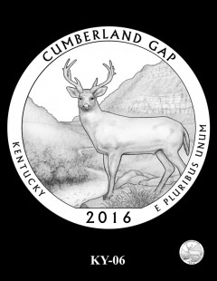 Cumberland Gap National Historical Park Quarter and Coin Design Candidate - KY-06
