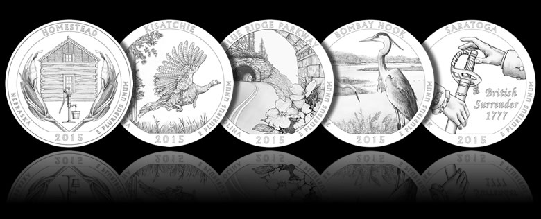 2015 America the Beautiful Quarters and Coin Design Images ...
