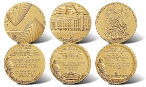 Medals Honor Fallen Heroes of September 11, 2001