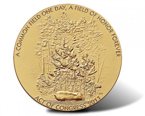 Fallen Heroes of September 11, 2001 -  The Flight 93 Medal (Obverse)