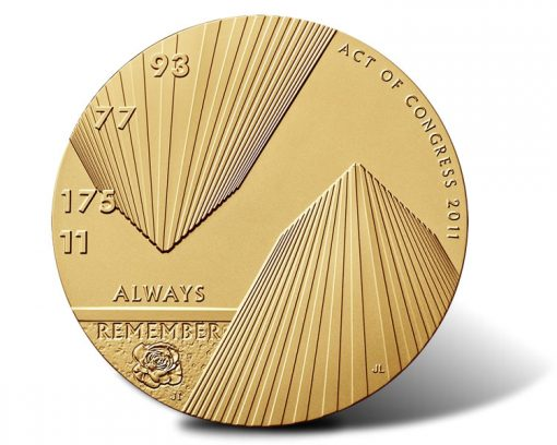 Fallen Heroes of September 11, 2001 - The New York Bronze Medal (Obverse)