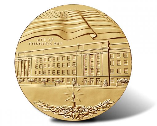 Fallen Heroes of September 11, 2001 - The Pentagon Medal (Obverse)