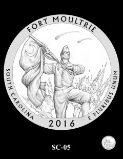 Fort Moultrie Quarter and Coin Design Candidate - SC-05