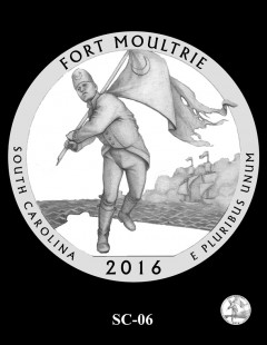 Fort Moultrie Quarter and Coin Design Candidate - SC-06