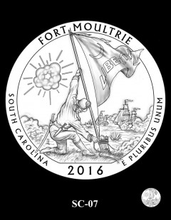 Fort Moultrie Quarter and Coin Design Candidate - SC-07
