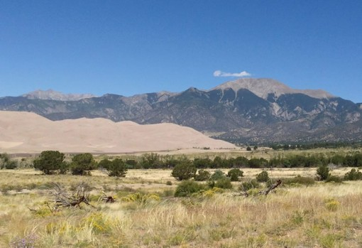 Great Sand Dunes National Park Scenery