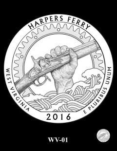 Harpers Ferry National Historical Park Quarter and Coin Design Candidate - WV-01