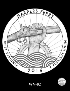 Harpers Ferry National Historical Park Quarter and Coin Design Candidate - WV-02