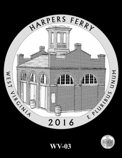 Harpers Ferry National Historical Park Quarter and Coin Design Candidate - WV-03