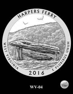 Harpers Ferry National Historical Park Quarter and Coin Design Candidate - WV-04