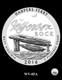 Harpers Ferry National Historical Park Quarter and Coin Design Candidate - WV-05A