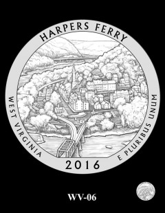 Harpers Ferry National Historical Park Quarter and Coin Design Candidate - WV-06