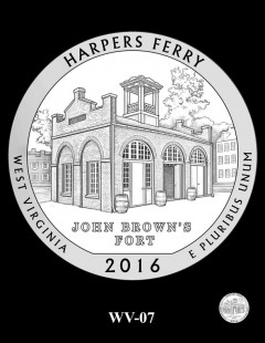 Harpers Ferry National Historical Park Quarter and Coin Design Candidate - WV-07