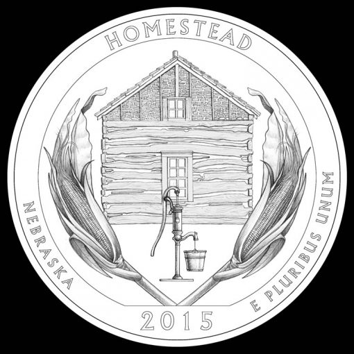 Homestead Homestead National Monument of America Quarter and Coin DesignNational Monument of America Quarter and Coin Design