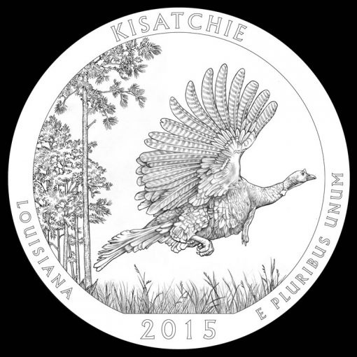 Kisatchie National Forest Quarter and Coin Design