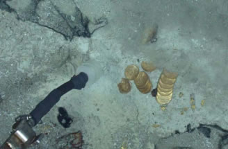 Odyssey photo of coins and nuggets