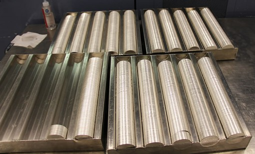 Planchets for bullion American Silver Eagles