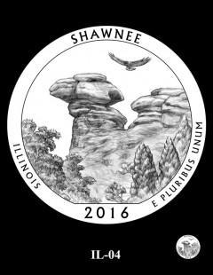 Shawnee National Forest Quarter and Coin Design Candidate - IL-04