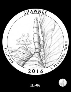 Shawnee National Forest Quarter and Coin Design Candidate - IL-06