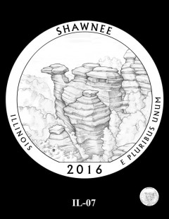 Shawnee National Forest Quarter and Coin Design Candidate - IL-07