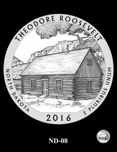 Theodore Roosevelt National Park Quarter and Coin Design Candidate - ND-08