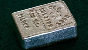 small silver bar