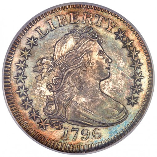 1796 Draped Bust Quarter, MS64