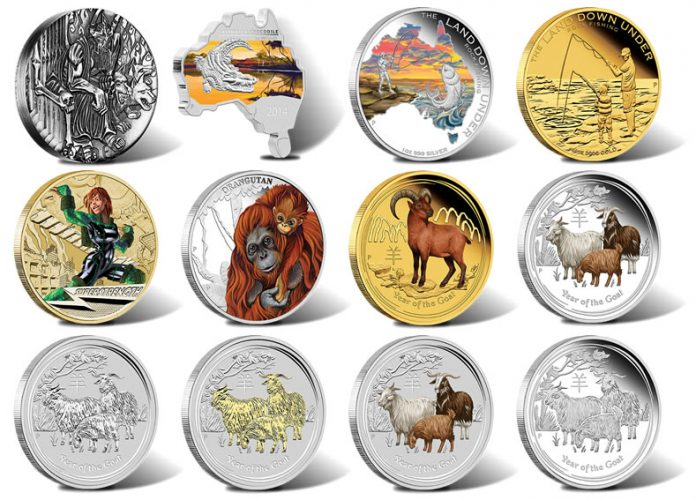 2014 Australian Gold and Silver Coins for October
