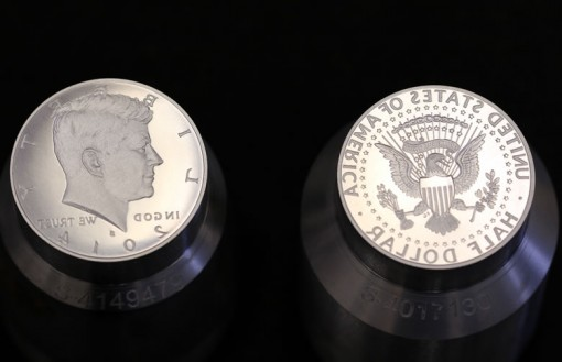 2014-S Enhanced Uncirculated Kennedy Half-Dollar Dies