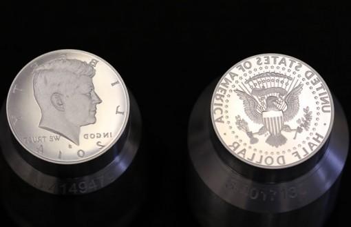 2014-S Enhanced Uncirculated Kennedy Half-Dollar Dies