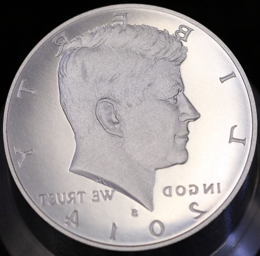 2014-S Enhanced Uncirculated Kennedy Half-Dollar - Obverse Die