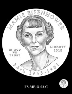 2015 First Spouse Gold Coin Design Candidate - FS-ME-O-02-C