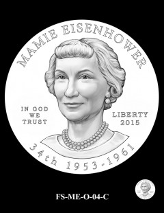 2015 First Spouse Gold Coin Design Candidate - FS-ME-O-04-C