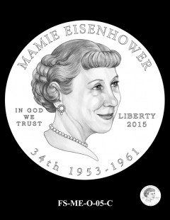 2015 First Spouse Gold Coin Design Candidate - FS-ME-O-05-C